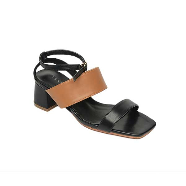 Giày sandal nữ quai ngang đế vuông SG868-12BA