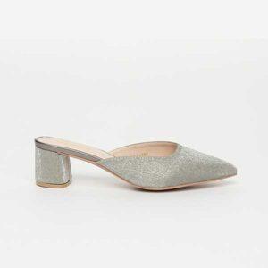 Giày sục cao gót đế vuông mũi nhọn SG585-3SI