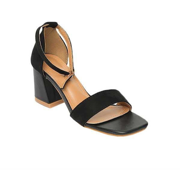 Sandal cao gót đế vuông hở mũi SG995-2ABA
