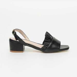 Sandal quai hậu đế vuông nữ SG136-38BA