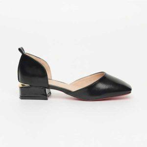 Giày nữ đế vuông mũi vuông SG720-18BBA