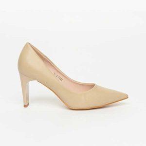 Giày nữ cao gót mũi nhọn da bóng SG3906-BAP