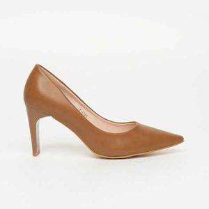 Giày cao gót nâu mũi nhọn SG3906-BBR