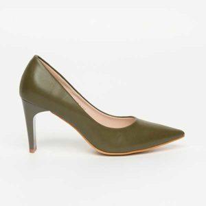 Giày cao gót mũi nhọn da trơn SG3906-BDG
