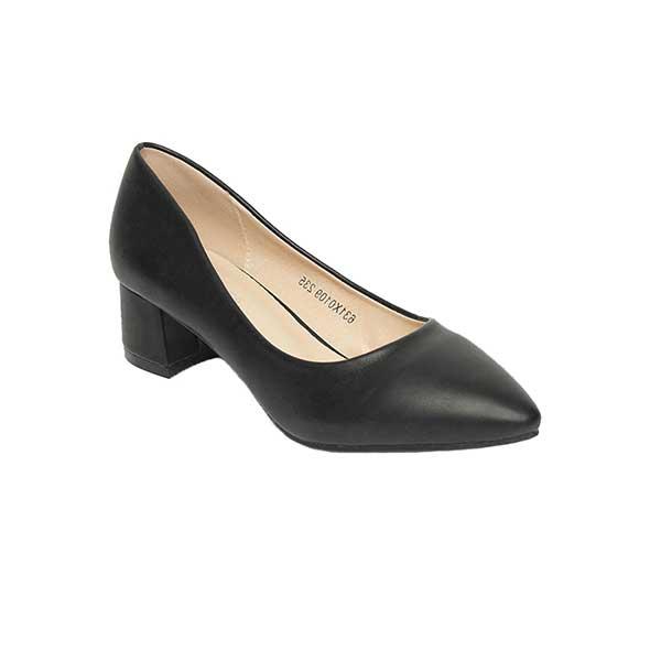 Giày gót vuông mũi nhọn cao 5cm SG0109BA