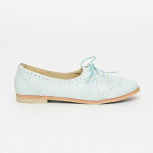 Giày oxford nữ đế bệt thanh lịch SG658-30BL