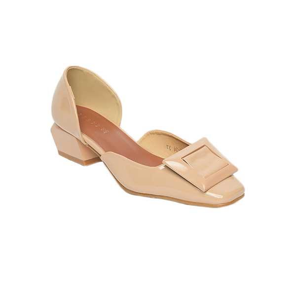 Giày nữ cao gót cut out đế vuông SG2063-14AP