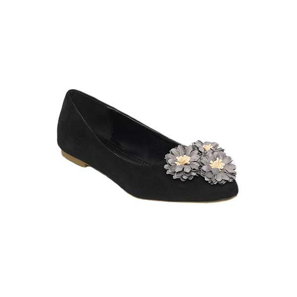 Giày bệt đính hoa kiêu sa SG813-1BBA