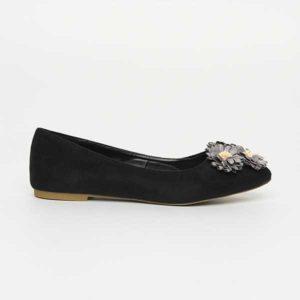 Giày búp bê đính hoa SG813-1BBA