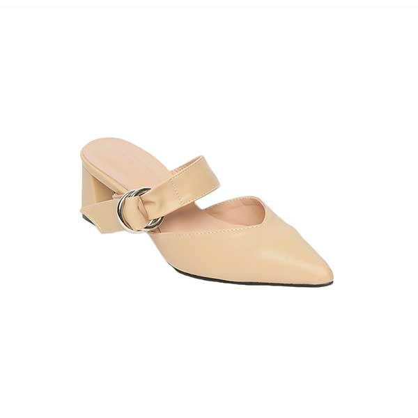 Sandal cao gót đế vuông bít mũi SG826-12AP