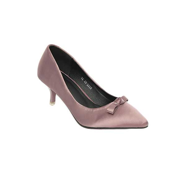 Giày cao gót nữ mũi nhọn nơ SG5032-83PI