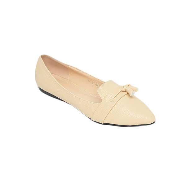 Giày bệt mũi nhọn đai ngang cách điệu SG217-75BE
