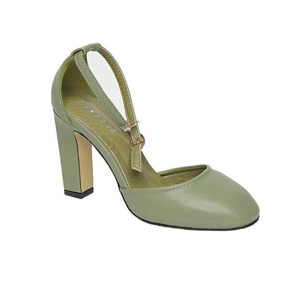 Giày sandal cao gót nữ quai ngang thời trang SG288-18GR