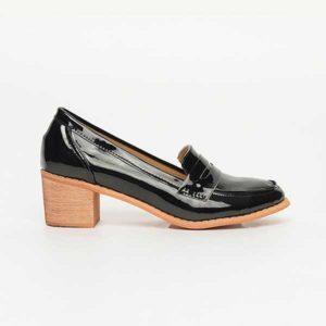 Giày loafer nữ cao gót SG3128-1BA