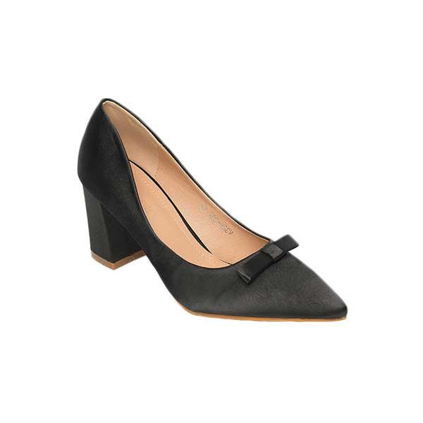 Giày cao gót nữ mũi nhọn đính nơ SGW326-20ABA