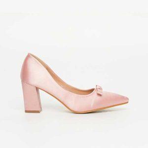 Giày nữ cao gót mũi nhọn đính nơ SGW326-20API