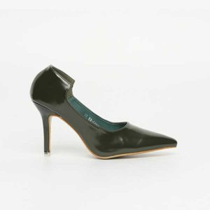 Giày cao gót 9cm da bóng SG2082-69GR