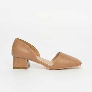 Giày cao gót đế vuông cut out SG1612-11KH