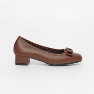 Giày cao gót đế thấp nơ SG8311-43ABR