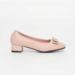 Giày cao gót mũi vuông đính nơ SG8311-43API