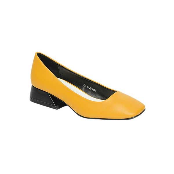 Giày nữ cao gót đế vuông mũi vuông SGJ0158-1YE
