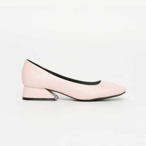Giày cao đế vuông da mềm 3cm SGJ0158-3PI