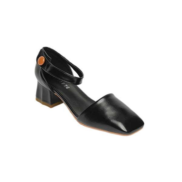 Giày sandal nữ cao gót đế vuông SG1612-19BA
