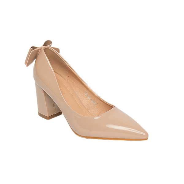 Giày cao gót mũi nhọn da bóng SGW326-10PI