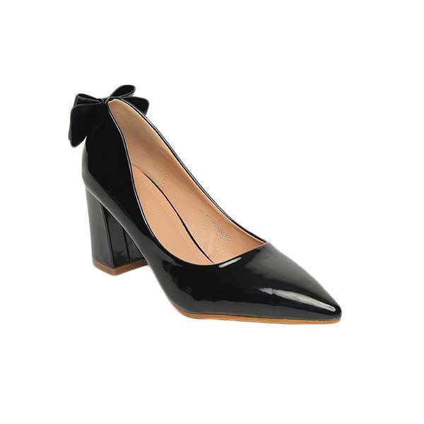 Giày cao gót mũi nhọn đế vuông SGW326-10BA