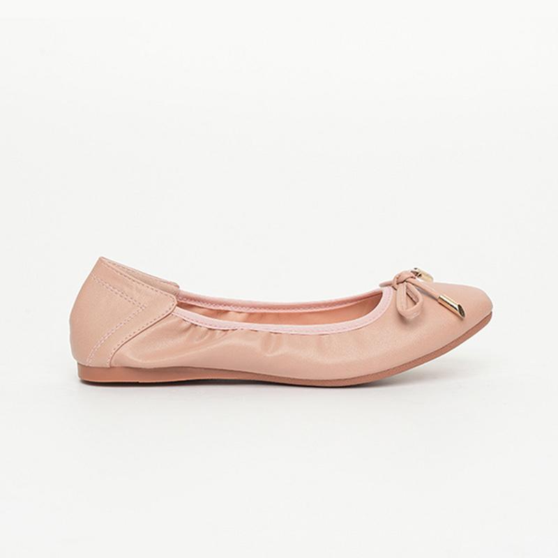Giày búp bê nữ màu hồng dễ thương SGA389-99PI