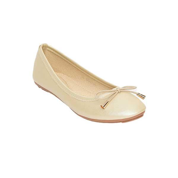 Giày bệt búp bê đính nơ SGA811-36EGO