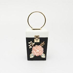 Túi xách nữ đính hoa STSY6808BW