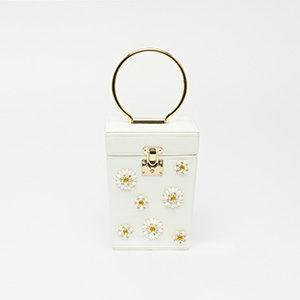 Túi xách nữ đính hoa STSY6808WH