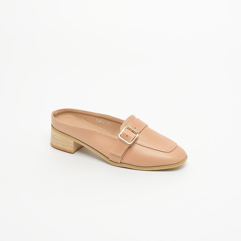 Giày  cao gót nữ mule shoes SGBE1199-2PI
