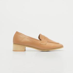 Giày lười nữ cao gót đế vuông SGBE1188-16BR