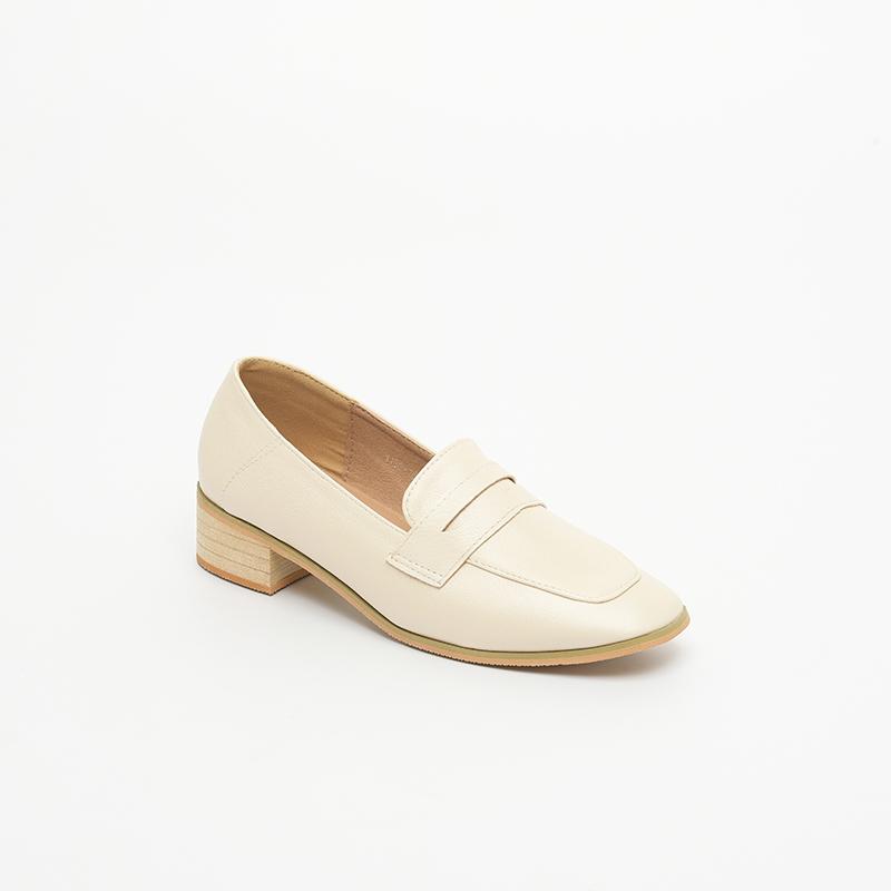 Giày nữ cao gót loafer SGBE1188-16AP