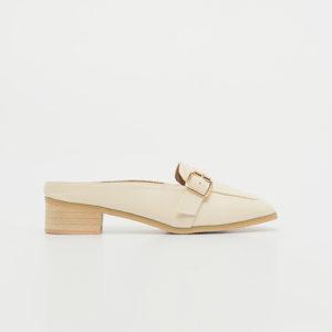 Giày nữ cao gót loafer sục cá tính SGBE1199-2AP