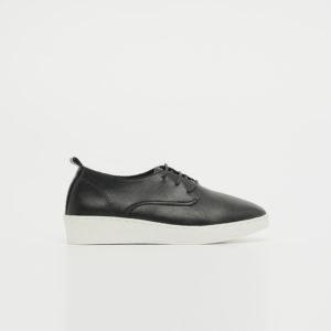 Giày nữ oxford mũi tròn đế độn 3cm SGBE5125-2BA