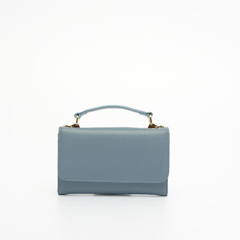 Túi da đeo chéo nữ khóa bấm STBEL201FO