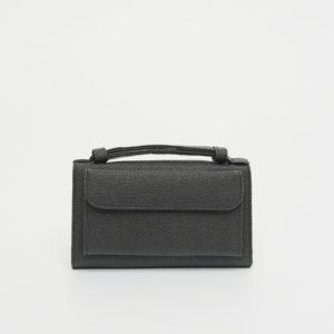 Túi đeo chéo nữ dây móc xích bạc STBEL202BA