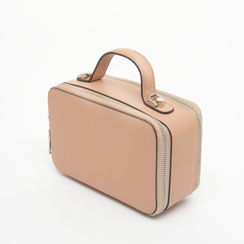 Túi xách tay nữ dáng hộp khóa STBEL102PI