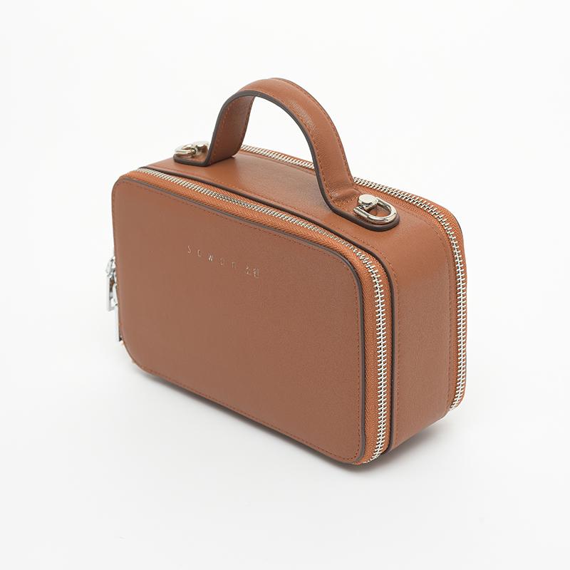 Túi xách tay nữ họa tiết khóa kéo STBEL102KH
