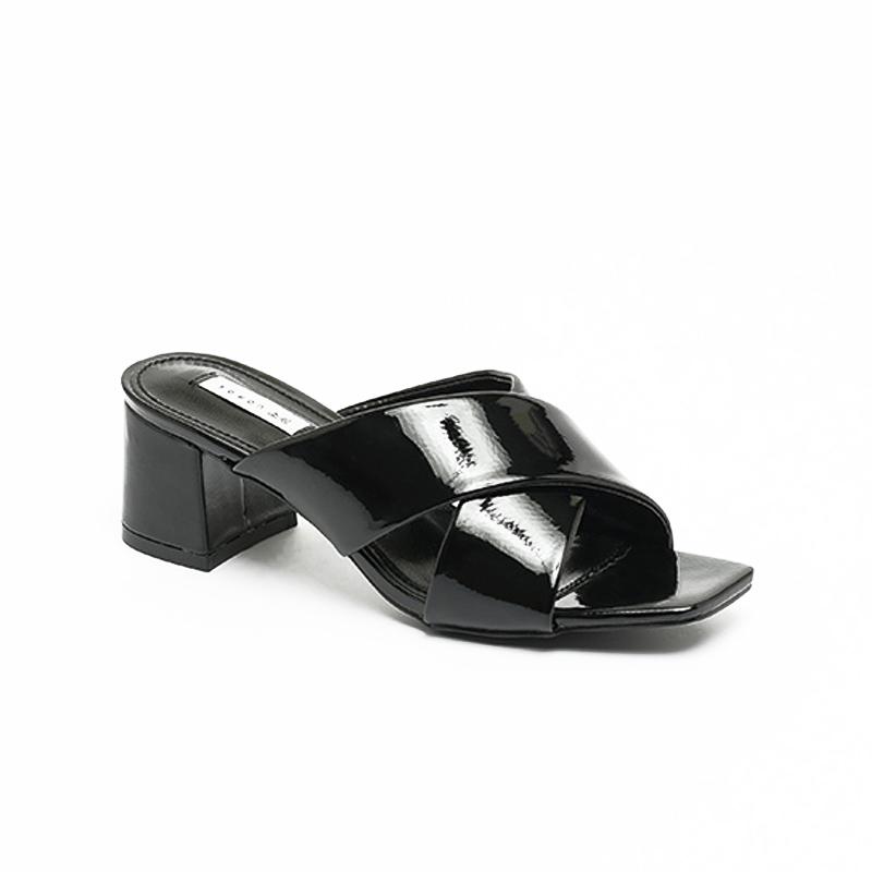 Dép sandal cao gót quai chéo Hàn Quốc SG0768BA