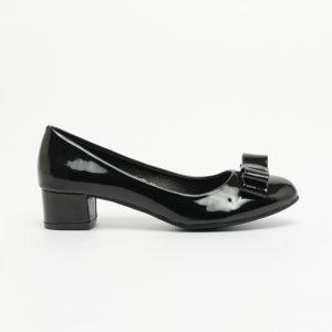 Giày cao gót nơ đế vuông 3cm Hàn Quốc SG318BDBA