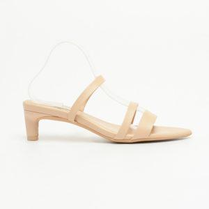 Sandal nữ cao gót quai mảnh mũi nhọn SG2289BE