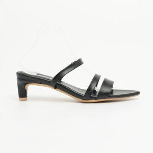 Sandal cao gót hai quai ngang SG2289BA