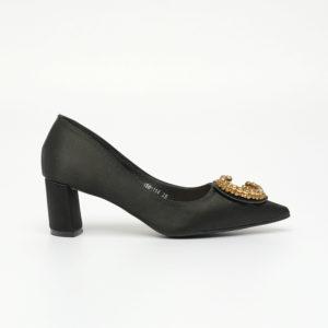 Giày cao gót mũi nhọn họa tiết đá sang trọng SG158-114BA