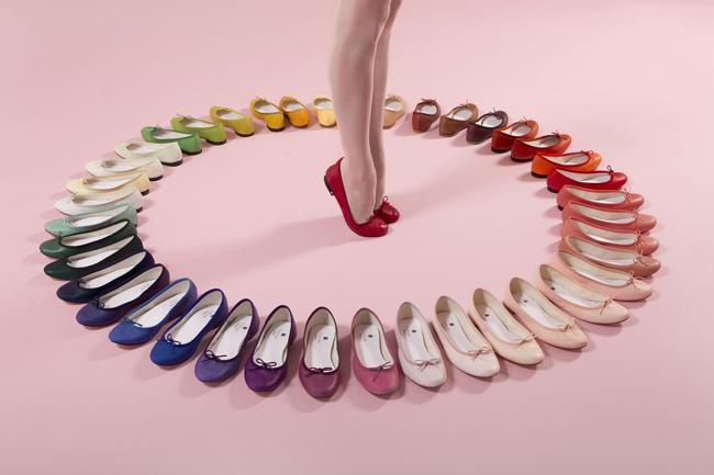 Những mẫu giày búp bê đẹp mê hồn của Pierre Cardin