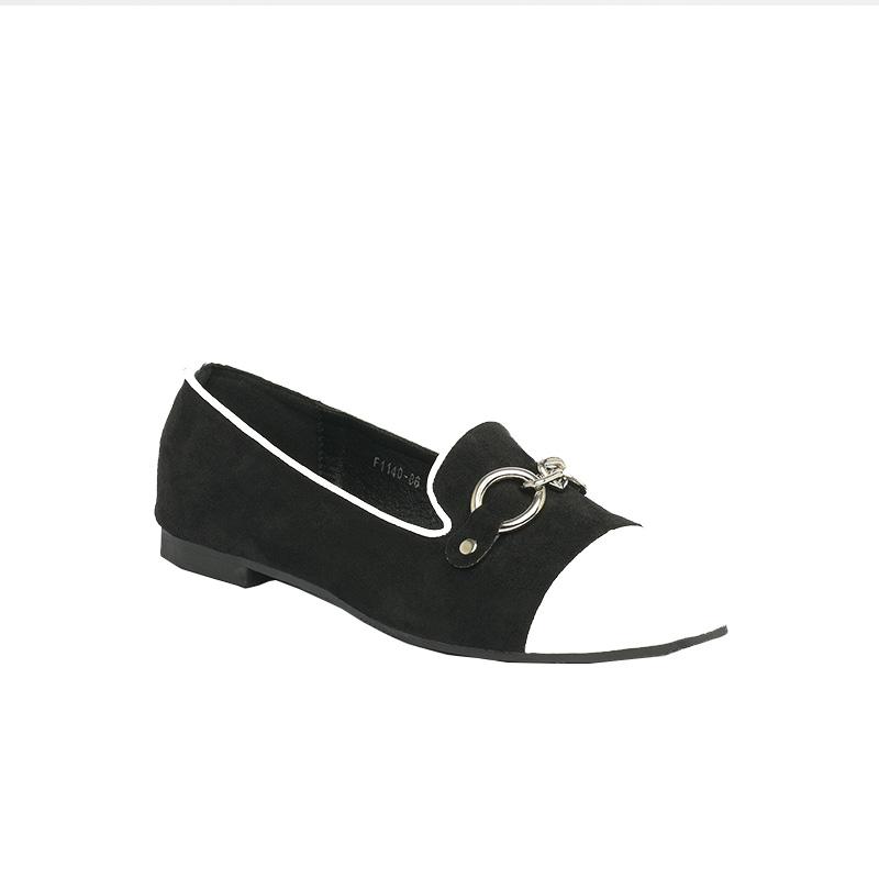 Giày bệt đen trắng sành điệu SG1140-86