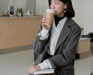 3 công thức mặc blazer chuẩn đẹp phong cách công sở Hàn Quốc